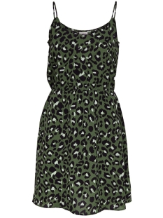 Jacqueline de Yong Jurk JDYUTRECHT MILO NYNNE STRAP DRESS W 15187966 Four Leaf Clove/LEO