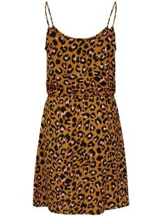 jdyutrecht milo nynne strap dress w 15187966 jacqueline de yong jurk golden brown/rosa leo