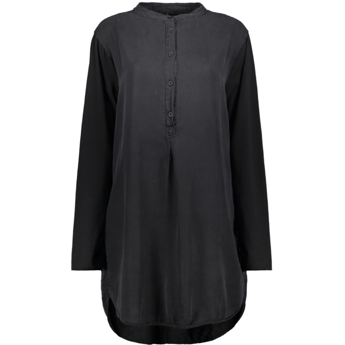 silk tunic dress 20 334 9103 10 days tuniek black