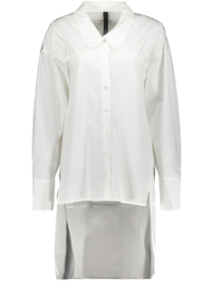 10 Days Tuniek OVERSIZED SHIRT DRESS 20 401 9103 WHITE
