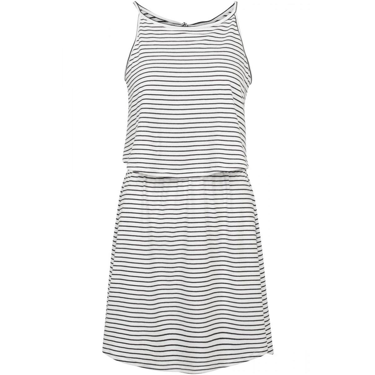 2 layer spaghetti dress tb2220 urban classics jurk off white
