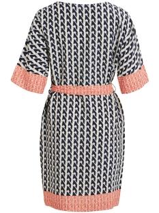 objnuja s/s dress a pa 23031277 object jurk gardenia/aop with c