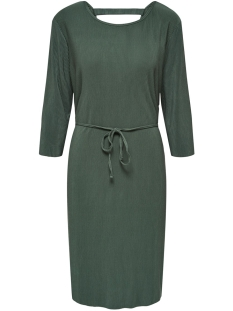Jacqueline de Yong Jurk JDYESMARILLA 2/4 BACK DETAIL DRESS 15184075 Duck Green