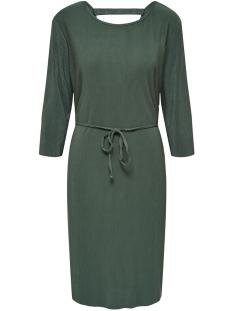 Jacqueline de Yong Jurk JDYESMARILLA 2/4 BACK DETAIL DRESS 15184075 Duck Green