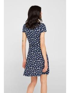 jersey jurk met wikkellook 059cc1e012 edc jurk c400 navy