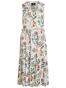 Object Jurk OBJAMBER S/L BOHO DRESS 102 23029607 Gardenia