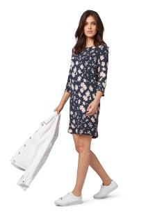 jurk met fashiontape 1012514xx70 tom tailor jurk 18717