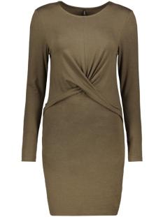 ONLMOSTER L/S TWIST  DRESS JRS 15188018 Beech/MELANGE