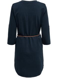 jdyivy 3/4 belt  dress jrs noos 15184136 jacqueline de yong jurk sky captain/fake suede