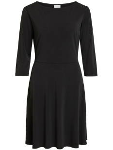 Vila Jurk VICLASSY 3/4 SLEEVE WAIST DRESS 14053359 Black