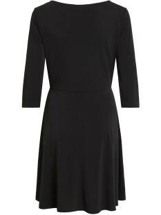 viclassy 3/4 sleeve waist dress 14053359 vila jurk black