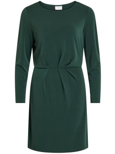 Vila Jurk VICLASSY L/S DETAIL DRESS - NOOS 14052226 Pine Grove