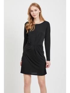 viclassy l/s detail dress - noos 14052226 vila jurk black