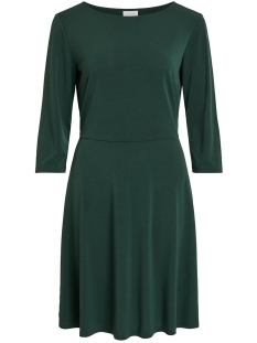 Vila Jurk VICLASSY 3/4 SLEEVE WAIST DRESS 14053359 Pine Grove