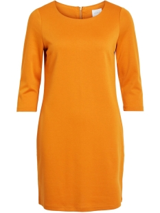 Vila Jurk VITINNY NEW DRESS-NOOS 14033863 Golden Oak