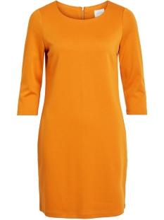 vitinny new dress-noos 14033863 vila jurk golden oak