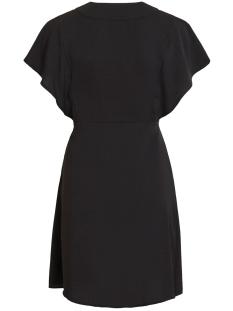 vijahula s/s dress/ki 14053938 vila jurk black