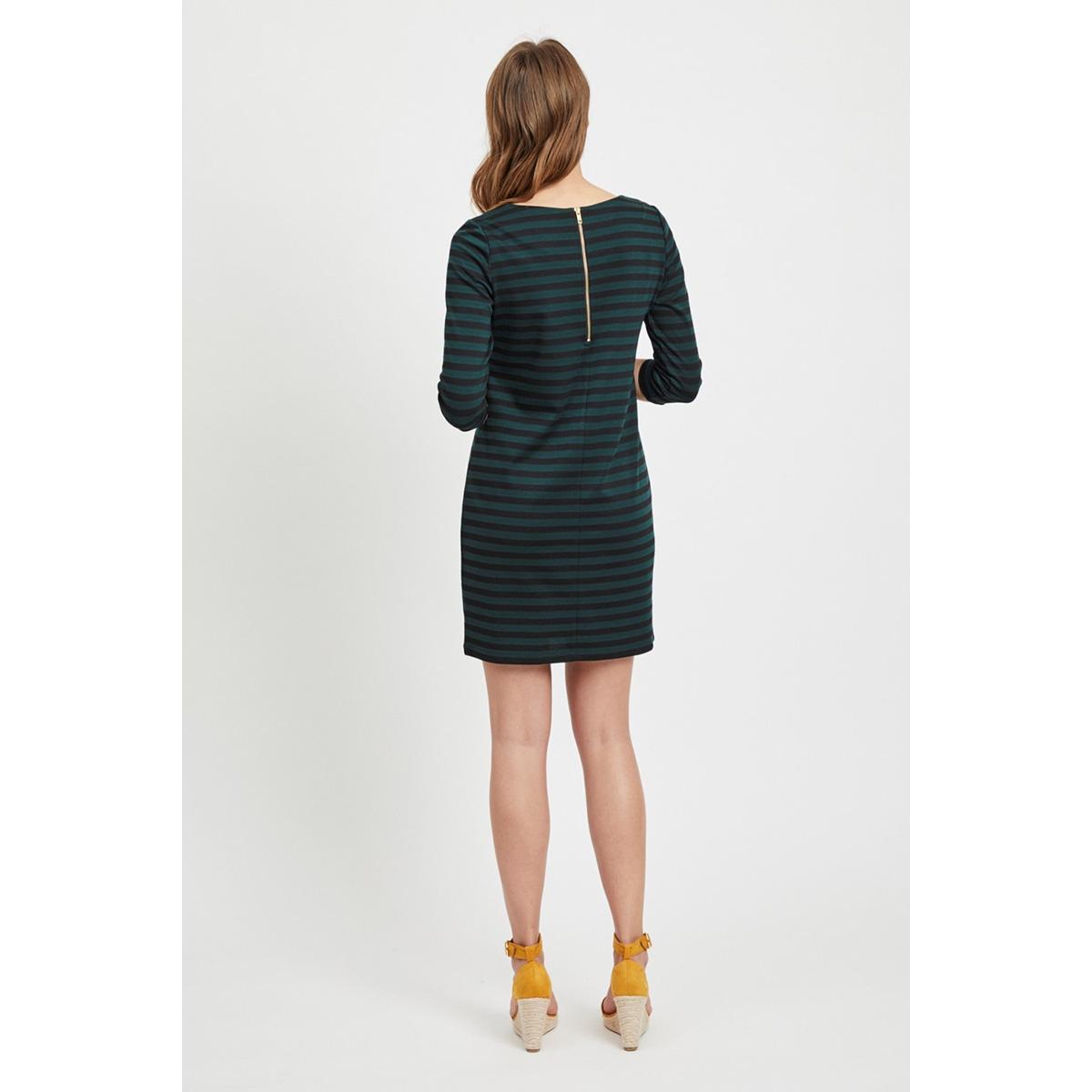 vitinny new dress-noos 14033863 vila jurk black/pine grove
