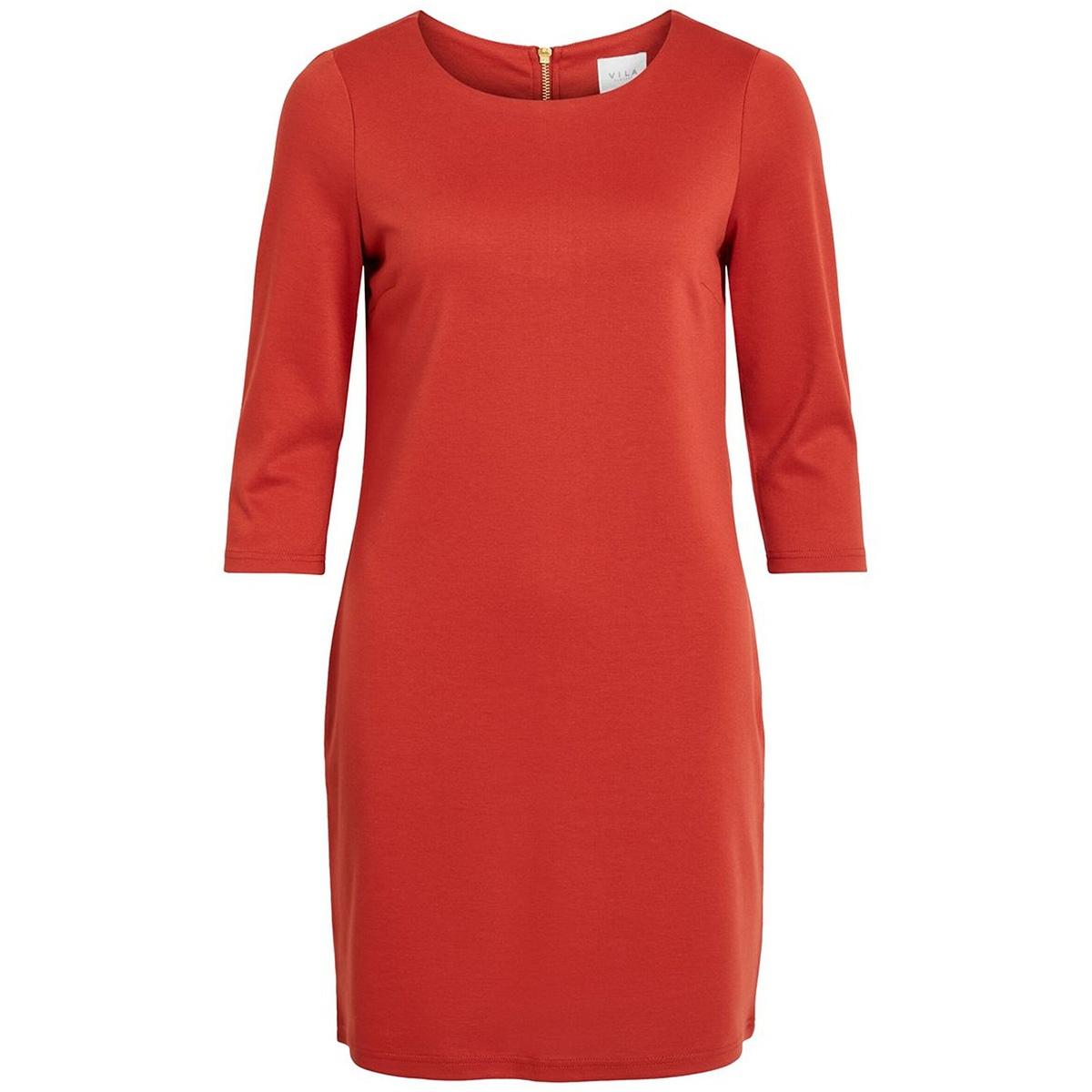 vitinny new dress-noos 14033863 vila jurk ketchup