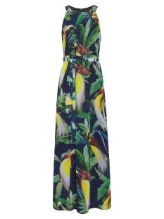 Smashed Lemon Jurk DRESS 19002 999 530 Black Green