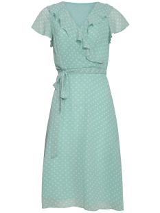 Smashed Lemon Jurk DRESS 19019 510 000 Mint White