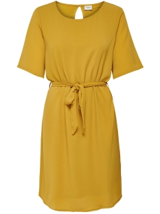 Jacqueline de Yong Jurk JDYAMANDA 2/4 BELT DRESS WVN NOOS 15190690 Harvest Gold