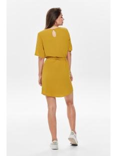 jdyamanda 2/4 belt dress wvn noos 15190690 jacqueline de yong jurk harvest gold
