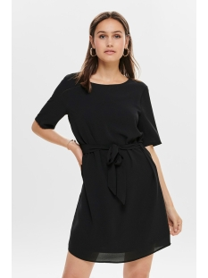 Jacqueline de Yong Jurk JDYAMANDA 2/4 BELT DRESS WVN NOOS 15190690 Black