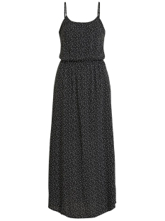 Object Jurk OBJCLARISSA SINGLET MAXI DRESS 103 23029549 Black/W. WHITE DOTS