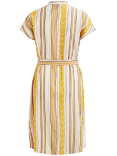 objblossom s/s lexie shirt dress a 23031511 object jurk gardenia