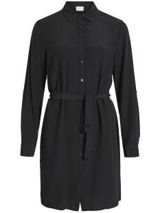 Vila Jurk VITHOMA L/S SHIRT DRESS 14052288 Black