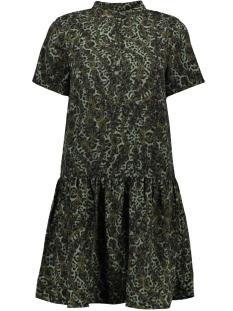 Vero Moda Jurk VMISTANBUL S/S PEPLUM DRESS VIP 10223597 Ivy Green/PETRA