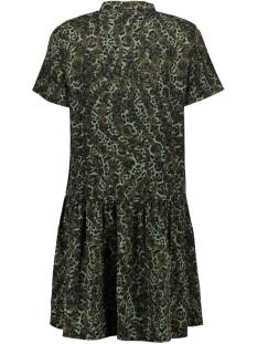 vmistanbul s/s peplum dress vip 10223597 vero moda jurk ivy green/petra