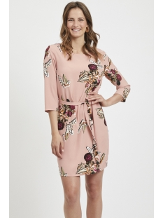 vilaia 3/4 sleeve dress - fav  lux 14053371 vila jurk ash rose/niala