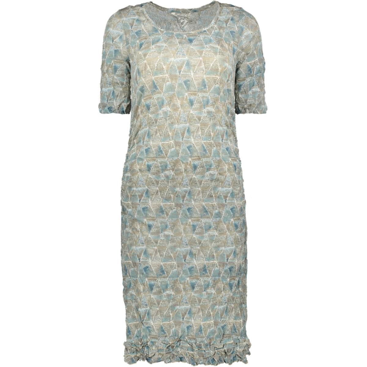 jurk met kreukel patroon 23001578 sandwich jurk 40098