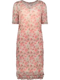 jurk met kreukel patroon 23001578 sandwich jurk 50097