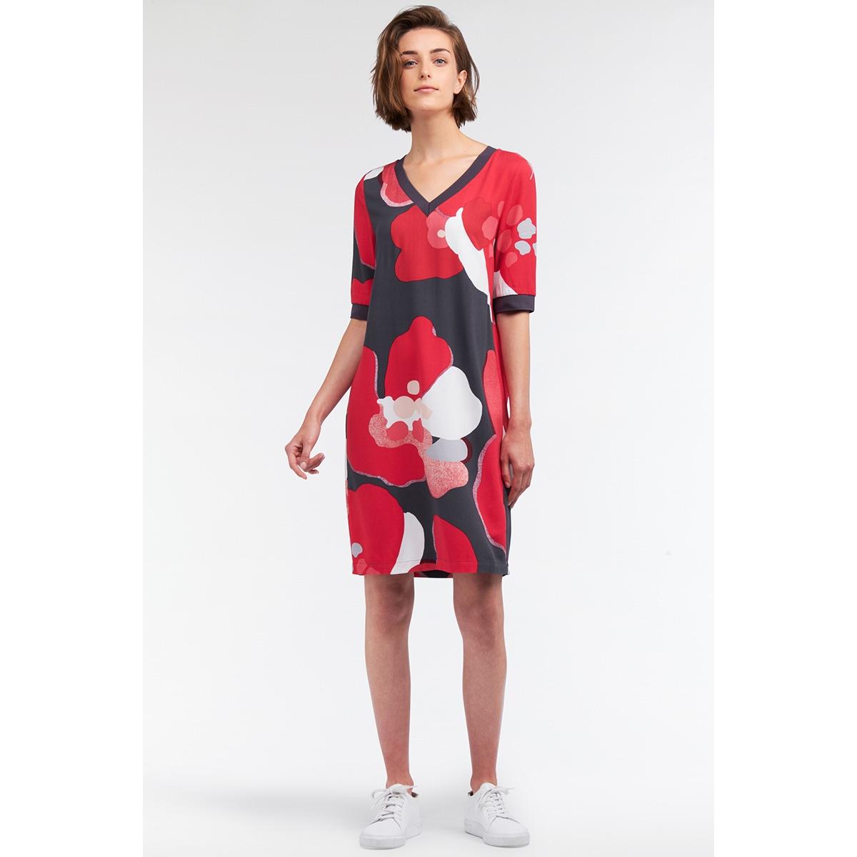 jurk met bloemenprint 23001601 sandwich jurk 20147