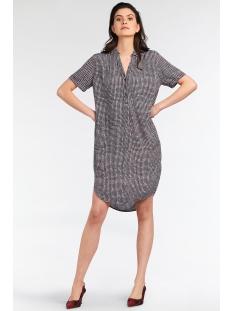 blousejurk met ruit 23001636 sandwich jurk 80025