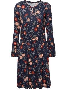 jersey jurk met bloemenprint 089cc1e016 edc jurk c400