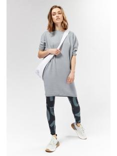 double dress 20 630 9103 10 days jurk grey blue