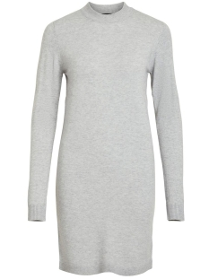 Object Jurk OBJTHESS L/S KNIT DRESS NOOS 23030730 Light Grey Melange