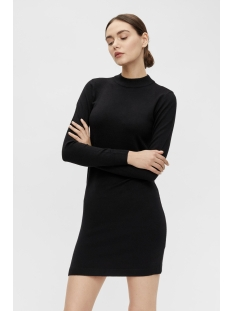 Object Jurk OBJTHESS L/S KNIT DRESS NOOS 23030730 Black