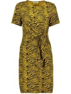 Pieces Jurk PCVIANNI SS DRESS D2D 17101408 Arrowwood/BLACK TIGER