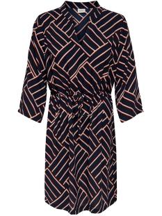Jacqueline de Yong Jurk JDYWIN TREATS 3/4 DRESS WVN 15176867 Sky Captain/GRAPHICAL