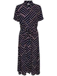 Jacqueline de Yong Jurk JDYWIN TREATS S/S LONG DRESS WVN 15179844 Sky Captain/GRAPHICAL
