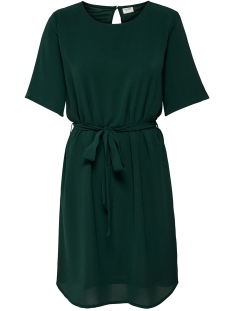 Jacqueline de Yong Jurk JDYAMANDA 2/4 BELT DRESS WVN NOOS 15190690 Scarab