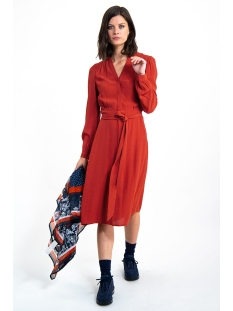 jurk h90287 garcia jurk 3497 rosso