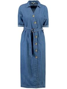 halflange denim jurk h90281 garcia jurk 1495 denim blue
