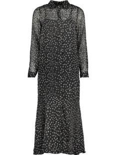 Only Jurk ONLKIM LS DRESS WVN 15184670 Black/BLOOMING