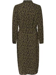 vmsasha shirt l/s dress color 10218916 vero moda jurk ivy green/ annie